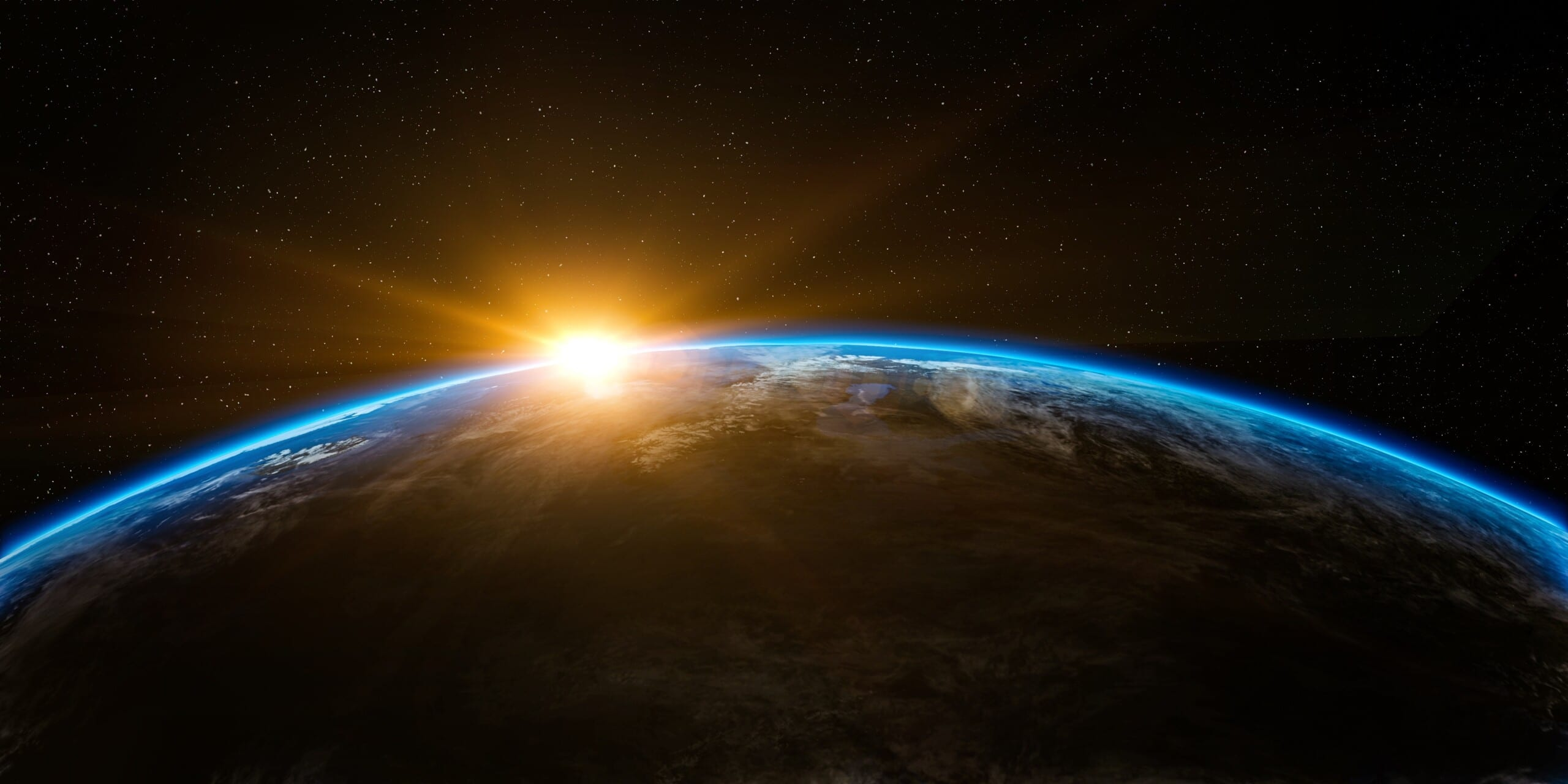 how far can the human eye see earth, space, sunlight