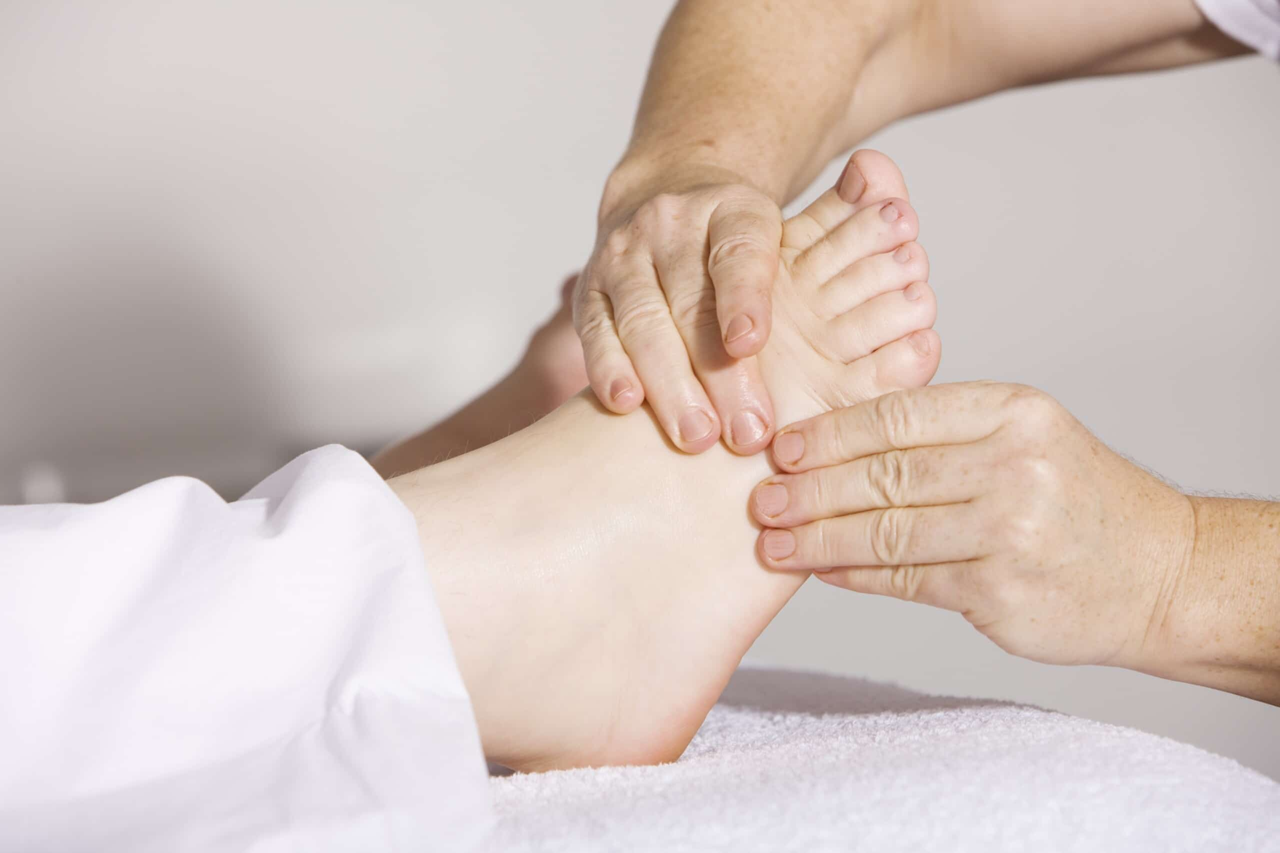 physical therapy, foot massage, massage